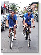 Bike Couriers Downtown Kingston area
